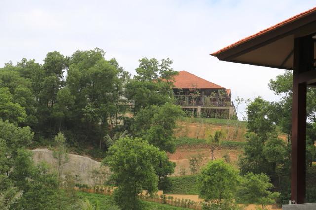 Banyan Tree's signature restaurant, Saffron