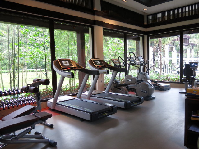 gym room of Banyan Tree Lang Co