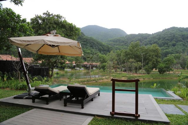 spacious outdoor area