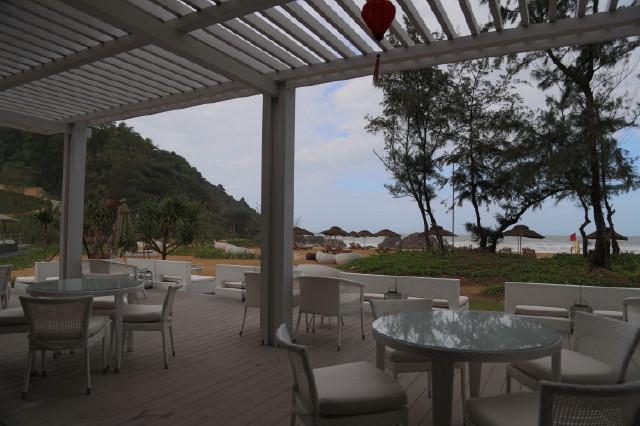 Azura is a casual beachfront restaurant