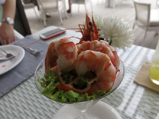 the prawn was so-so