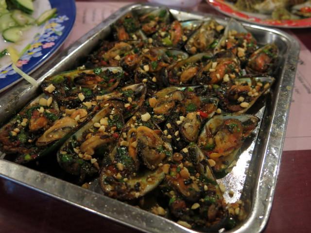 mussel, so-so