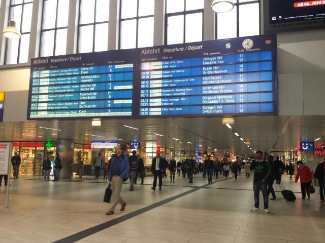 Dusseldorf Hauptbahnhof (Central Station)