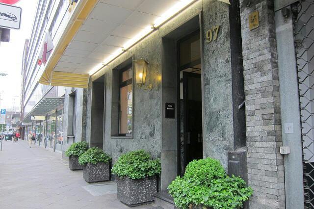 entry of Hotel Bismarck Dusseldorf