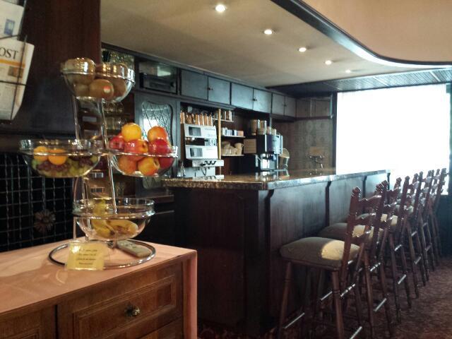 restaurant of Hotel Bismarck Dusseldorf